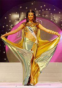 Секреты красоты от царицы Клеопатры. Мисс Египет на конкурсе красоты