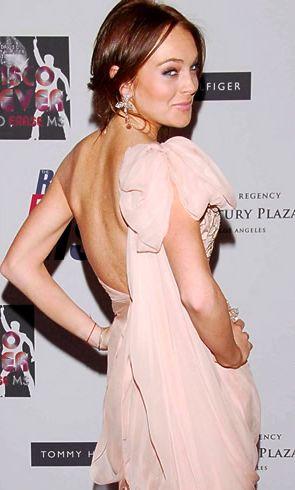 Линдси Лохан истощена, но продолжает диету