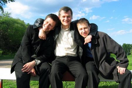 Мужская дружба нужна для поддержания эрекции / Журнал для взрослых.