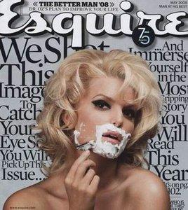 Джессика Симпсон побрилась для мужского журнала