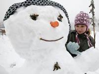 Имя для январского малыша. снеговик, зима, снег