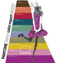 Модные цвета осенней одежды для девушек