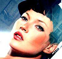 Гипнотический взгляд из-под пышных ресниц. И опять знойная Кейт Мосс в новом имидже и новой рекламе