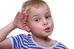 Рифмы-миниатюры для развития слухового внимания